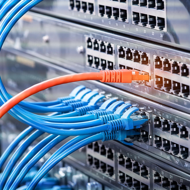 LAN Verkabelung